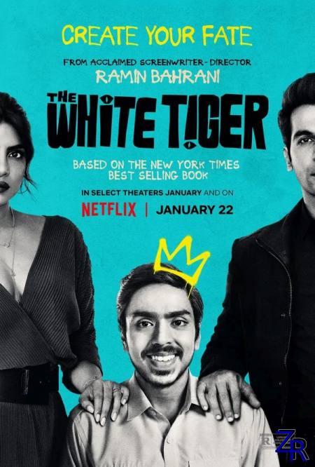 Белый тигр / The White Tiger (2020) [WEB-DLRip]