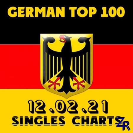 German Top 100 Single Charts 12.02.2021 (2021)