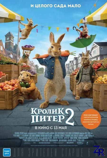 Кролик Питер 2 / Peter Rabbit 2: The Runaway (2021) [WEB-DLRip-AVC]